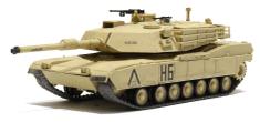Waltersons R/C Tank U.S. M1A1 Abrams Desert Yellow 1/72