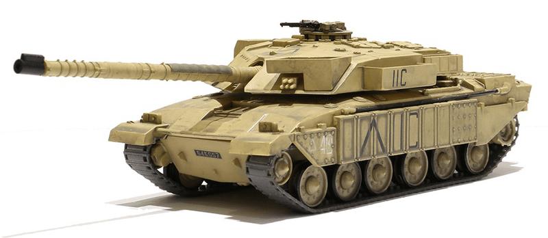 Waltersons R/C Tank British MBT Challenger 1 Desert Yell 1/72