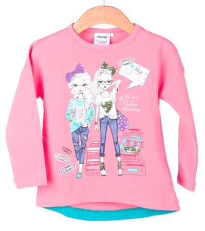 Primigi dekliška majica 110 roza