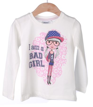 Primigi dekliška majica 122 smetane