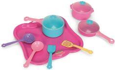 Wader Nádobí Tác s nádobím růžový 11 dílů