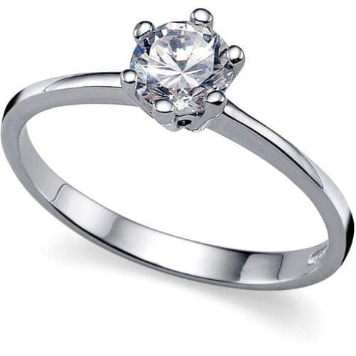 Oliver Weber Zásnubní prsten Brilliance 63215 S (49 - 52 mm) stříbro 925/1000