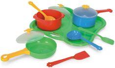 Wader Nádobí Tác s nádobím zelený 11 dílů