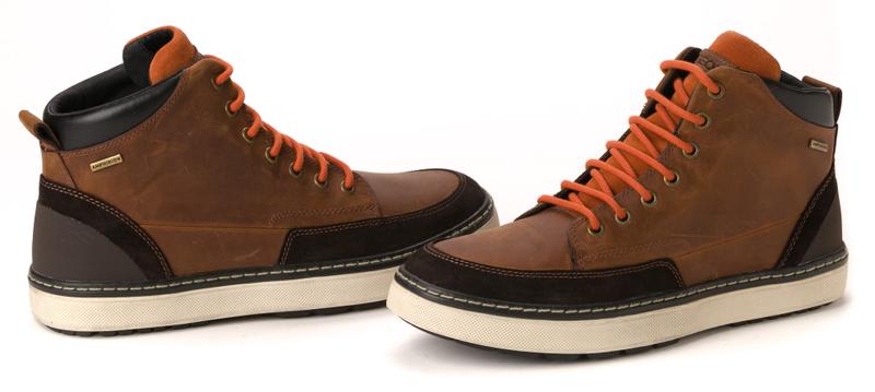 Geox pánská kotníčková obuv 41 hnědá