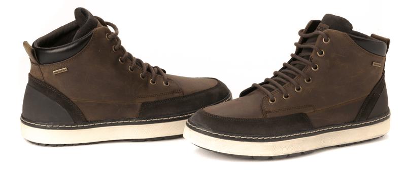 Geox pánská kotníčková obuv 41 tmavě hnědá