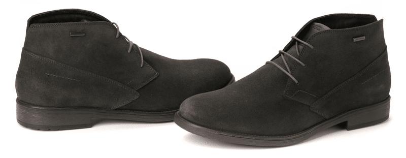 Geox pánská kotníčková obuv 43 tmavě šedá