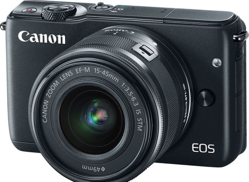 Canon EOS M10 + EF-M 15-45 mm IS STM Black