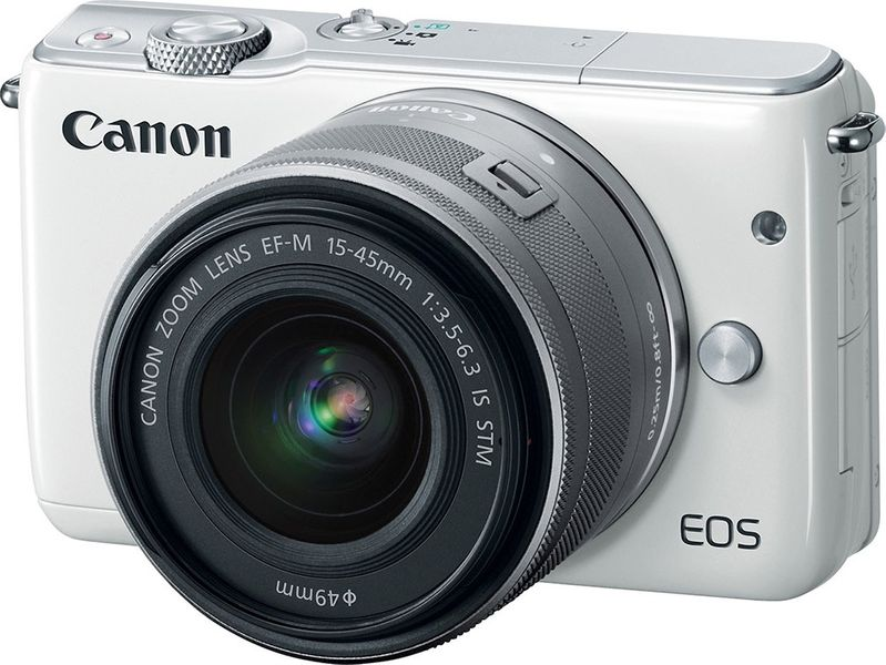 Canon EOS M10 + EF-M 15-45 mm IS STM White