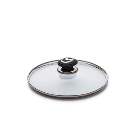 Rosmarino steklena pokrovka Black Lava Stone, 24 cm
