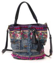Desigual ženska torbica plava