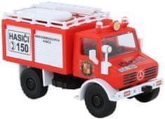 Monti Systém Stavebnica 16 Mercedes Unimog hasiči ČR 1:48