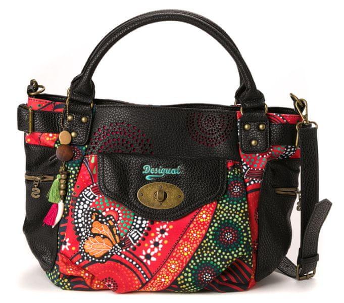 Desigual vícebarevná kabelka