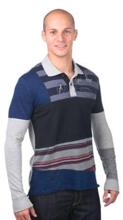 Desigual moška polo majica M siva