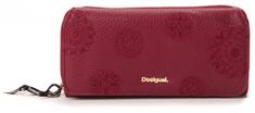 Desigual portfel damski burgund
