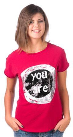 Desigual ženska majica XS bordo rdeča