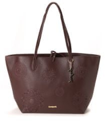 Desigual ženska ročna torbica rjava
