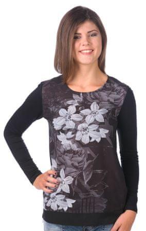 Desigual T-shirt damski XS czarny