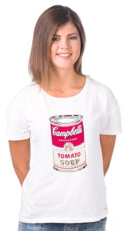 Pepe Jeans ženska majica Poppy S bela