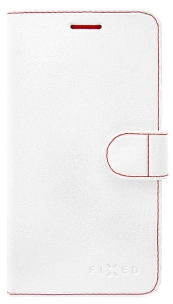 Fixed flipové pouzdro, FIT, Lenovo Vibe K5 Note, bílé
