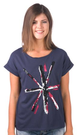 Pepe Jeans női póló Vanesa XS sötétkék