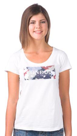 Pepe Jeans ženska majica Fiona XS bela