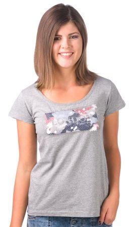 Pepe Jeans ženska majica Fiona M siva