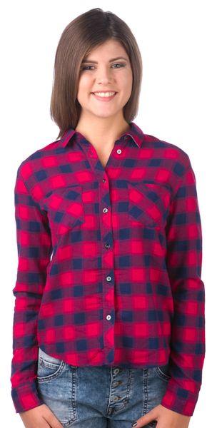 Pepe Jeans dámská košile Denise XS červená
