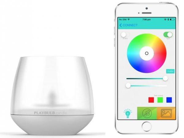 MiPOW Playbulb™ Candle, chytrá LED Bluetooth svíčka