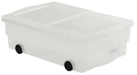 Curver škatla za shranjevanje s kolesi Multiboxx, 32 l