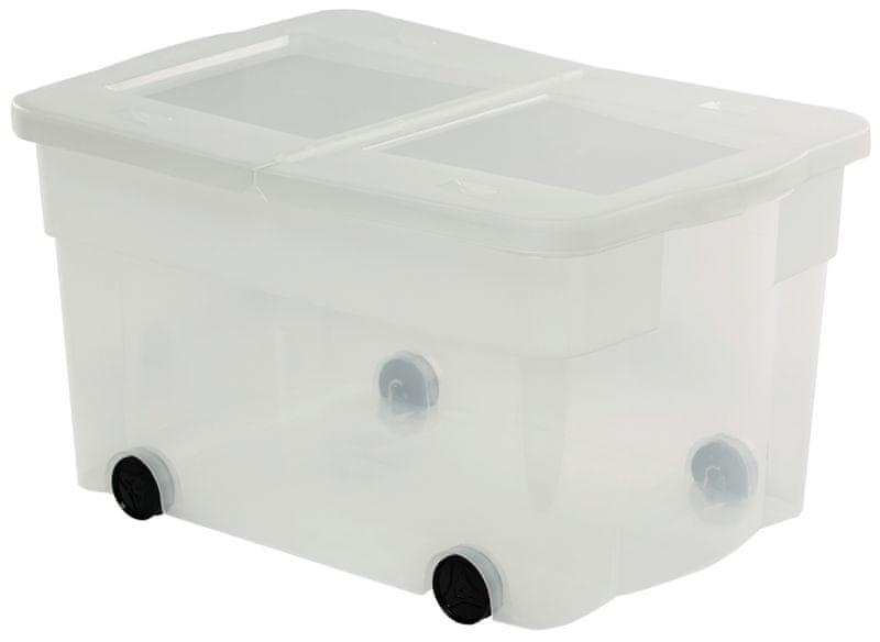 Curver Multiboxx s kolečky transparentní 45 l