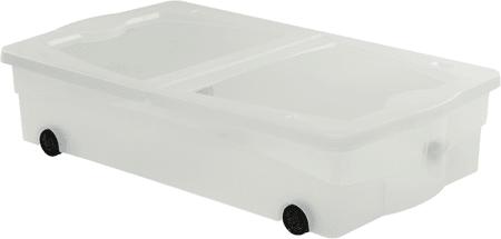 Curver škatla za shranjevanje s kolesi Multiboxx, 50 l