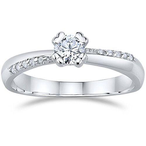 Silvego Stříbrný zásnubní prsten FNJ0946R 50 mm stříbro 925/1000