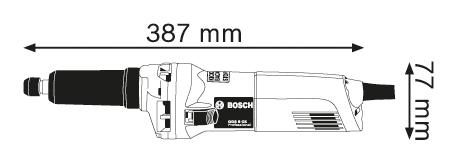 BOSCH Professional premi brusilnik GGS 8 CE (0601222100)