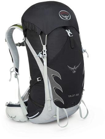 Osprey nahrbtnik Talon 33, črn, S/M