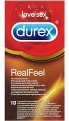 Durex kondomi Real Feel, 10 kosov