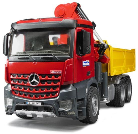 BRUDER Mercedes-Benz Arocs z dźwigiem 03651