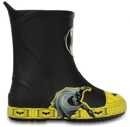 Crocs Kalosze dziecięce Bump It Batman Black 32-33 (J1)