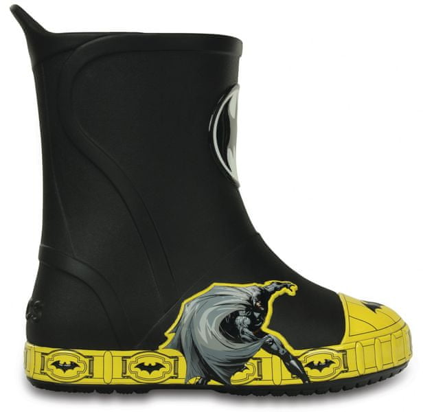 Crocs Bump It Batman Boot Black 33-34 (J2)