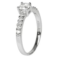 Selilya Silver Strieborný prsteň SRJ06 striebro 925/1000