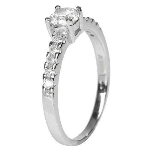 Selilya Silver Stříbrný zásnubní prsten prsten SRJ06 51 mm stříbro 925/1000