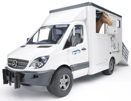 Bruder kombi za prevoz živali