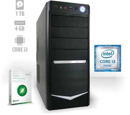 mimovrste=) namizni računalnik Rock i3-7100/4GB/1TB/FreeDOS