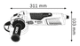 2 - Bosch kotni brusilnik GWS 17-125 INOX (060179M008)