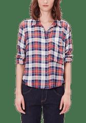 s.Oliver dámská kostkovaná košile