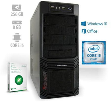 mimovrste=) namizni računalnik Home Office Advanced PF7 i5-7400/8GB/240GB SSD/Win10 + Office 365