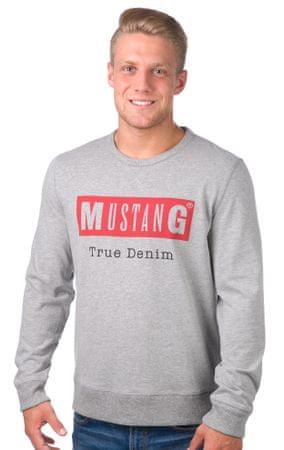 Mustang férfi pulóver M szürke - További információ a termékről ... 0f57a6d829