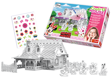 Trefl Craft House Domek Myszki Minnie