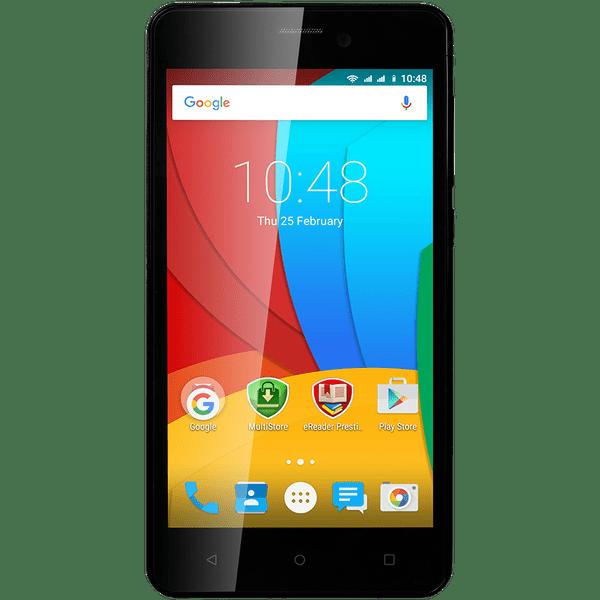 Prestigio MultiPhone Wize P3, PSP3508 Dual SIM, černý