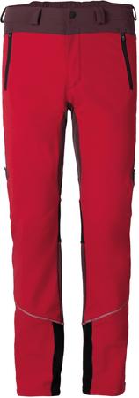Vaude hlače Larice II, rdeče, 54