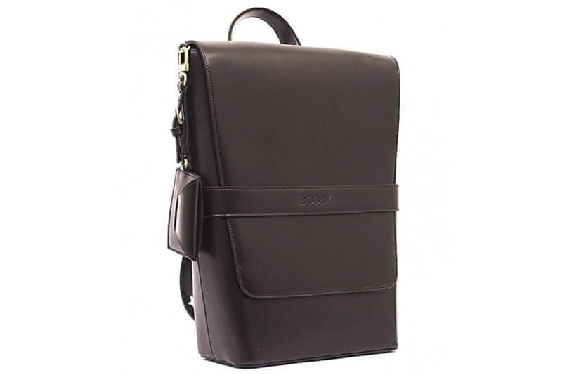 Bobby Black pánský tmavě hnědý batoh